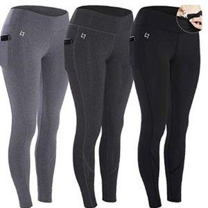 ALL 3 pair of Women's Workout Leggings Capris  L